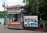 Hanoi, Vietnam, A City Tour tourism booth located along Hoan Kiem Lake. photo taken July 2008.