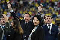 Rio de Janeiro (RJ), 07/07/2019 - Copa América / Final / Brasil x Peru -   O presidente Jair Bolsonaro durante premiação de Campeão da Copa América, no Estádio Maracanã, neste domingo, 07. (Foto: Ricardo Botelho/Brazil Photo Press)