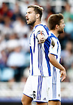 Real Sociedad's Inigo Martinez during La Liga match. August 21,2016. (ALTERPHOTOS/Acero)