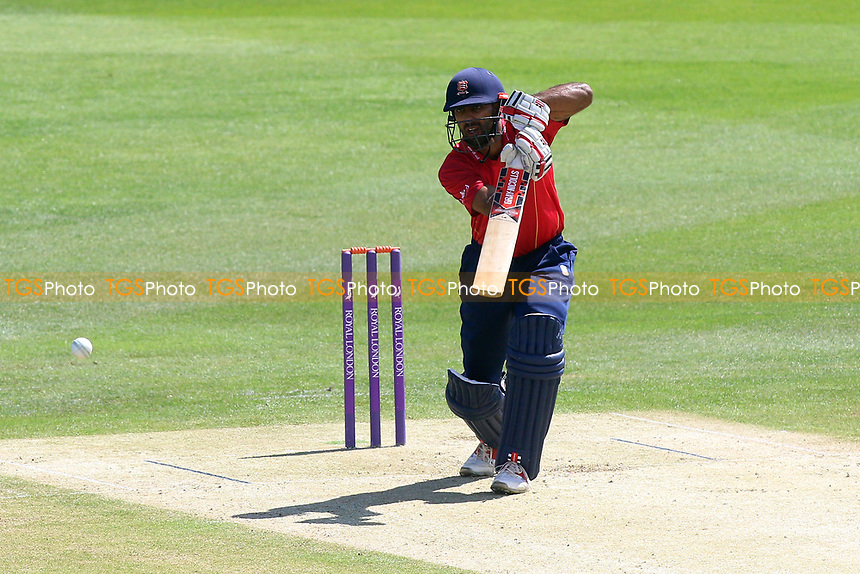 Varun Chopra in batting action for Essex during Kent Spitfires vs Essex Eagles, Royal London One-Day Cup Cricket at the St Lawrence Ground on 17th May 2017