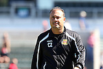 09 October 2016: Fort Lauderdale head coach Caio Zanardi (BRA). The Carolina RailHawks hosted the Fort Lauderdale Strikers at WakeMed Soccer Park in Cary, North Carolina in a 2016 North American Soccer League Fall Season match. Carolina won the game 3-0.