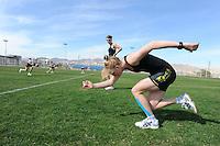 SCHAATSEN: EILAT (ISR): Trainingskamp Team Op=Op Voordeelshop, 17-01-2012, Carlijn Achtereekte, Natasja Bruintjes, ©foto Martin de Jong