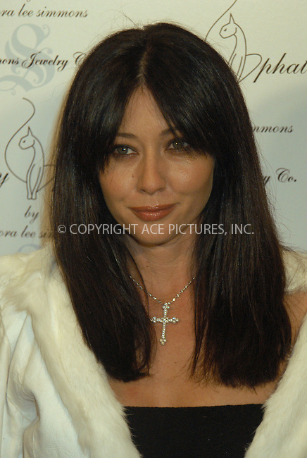 WWW.ACEPIXS.COM . . . . . ....NEW YORK, FEBRUARY 5, 2005....Shannen Doherty at the Baby Phat Fall 2005 fashion show.....Please byline: KRISTIN CALLAHAN - ACE PICTURES.. . . . . . ..Ace Pictures, Inc:  ..Philip Vaughan (646) 769-0430..e-mail: info@acepixs.com..web: http://www.acepixs.com