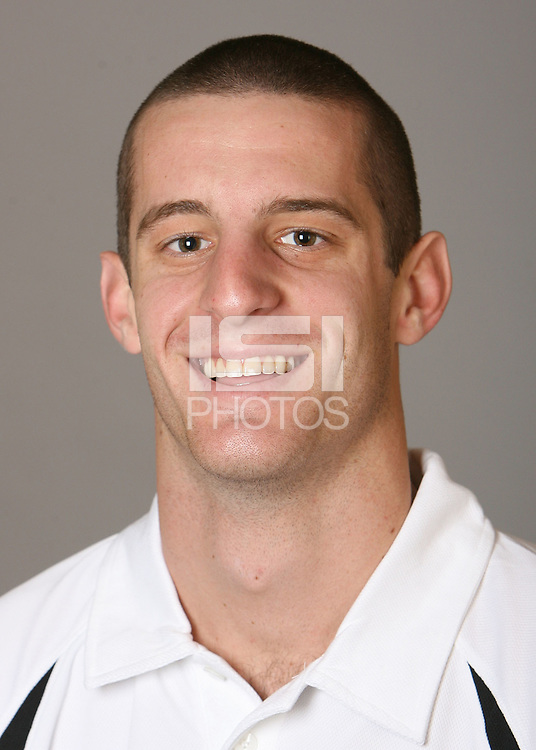 STANFORD, CA - NOVEMBER 12:  Dylan Kordic of the Stanford Cardinal men's volleyball team poses for a headshot on November 12, 2008 in Stanford, California.