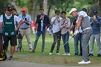 Bryson DeChambeau (USA) chips up tight from the trees on 6 during round 3 of the World Golf Championships, Mexico, Club De Golf Chapultepec, Mexico City, Mexico. 2/23/2019.<br /> Picture: Golffile | Ken Murray<br /> <br /> <br /> All photo usage must carry mandatory copyright credit (© Golffile | Ken Murray)