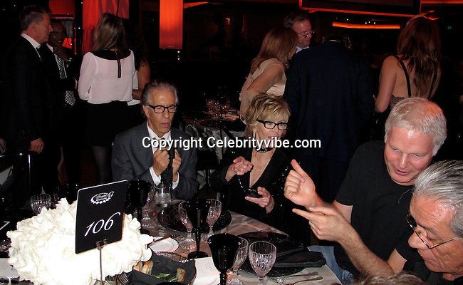 """David Foster, Richard Perry, Jane Fonda and Steve Bing..Bill Clinton's 65th Birthday Gala Featuring Stevie Nicks and The Clinton Foundation's """"A Decade Of Difference"""" Gala..Hollywood Palladium..Hollywood, CA, USA..Friday October 14, 2011..Photo ByCelebrityVibe.com..To license this image please call (323) 325-4035; or Email:CelebrityVibe@gmail.com ;.website: www.CelebrityVibe.com .**EXCLUSIVE**."""