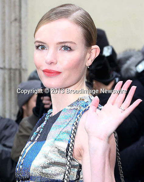 Pictured: Kate Bosworth<br /> Mandatory Credit &copy; AFFR/Broadimage<br /> Christian Dior:  Paris Fashion Week - Haute Couture S/S 2014 - Outside Arrivals<br /> <br /> 1/20/14, Paris, , France<br /> <br /> Broadimage Newswire<br /> Los Angeles 1+  (310) 301-1027<br /> New York      1+  (646) 827-9134<br /> sales@broadimage.com<br /> http://www.broadimage.com<br /> <br /> <br /> Pictured: Kate Bosworth<br /> Mandatory Credit &copy; AFFR/Broadimage<br /> Christian Dior:  Paris Fashion Week - Haute Couture S/S 2014 - Outside Arrivals<br /> <br /> 1/20/14, Paris, , France<br /> Reference: 012014_BDG_AFFR_DF_003<br /> <br /> Broadimage Newswire<br /> Los Angeles 1+  (310) 301-1027<br /> New York      1+  (646) 827-9134<br /> sales@broadimage.com<br /> http://www.broadimage.com