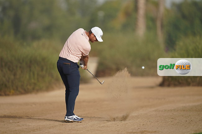 Lucas Bjerregaard (DEN) during the second round of the Omega Dubai Desert Classic, Emirates Golf Club, Dubai, UAE. 25/01/2019<br /> Picture: Golffile | Phil Inglis<br /> <br /> <br /> All photo usage must carry mandatory copyright credit (© Golffile | Phil Inglis)