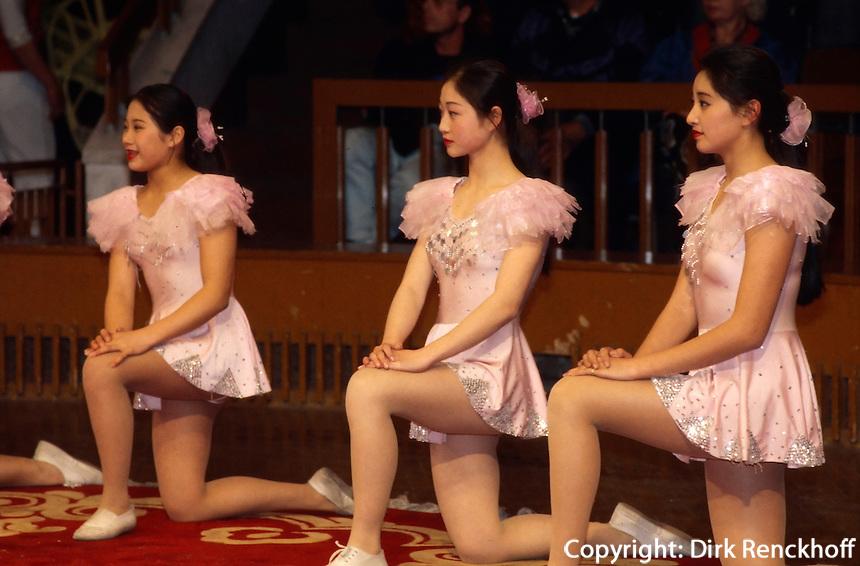 China, Shanghai, Akrobaten-Show