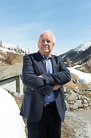 Switzerland, Ticino, Valle Bedretto; All'Acqua; Sindaco Diego Orelli; Mayor of Bedretto