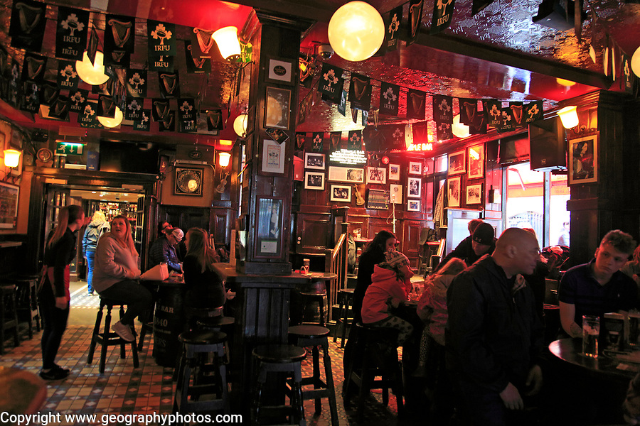Inside Temple Bar pub, Dublin city centre, Ireland, Republic of Ireland