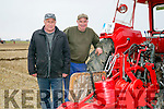 ARDFERT PLOUGHING MATCH on Dominic O Flaherty, Banna Land on Sunday were L-r  Tony Wharton and Thomas Wharton from Killarney.