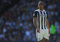 West Bromwich Albion's Jose Salomon Rondon<br /> <br /> Photographer Ashley Crowden/CameraSport<br /> <br /> The Premier League - West Bromwich Albion v Tottenham Hotspur - Saturday 5th May 2018 - The Hawthorns - West Bromwich<br /> <br /> World Copyright &copy; 2018 CameraSport. All rights reserved. 43 Linden Ave. Countesthorpe. Leicester. England. LE8 5PG - Tel: +44 (0) 116 277 4147 - admin@camerasport.com - www.camerasport.com