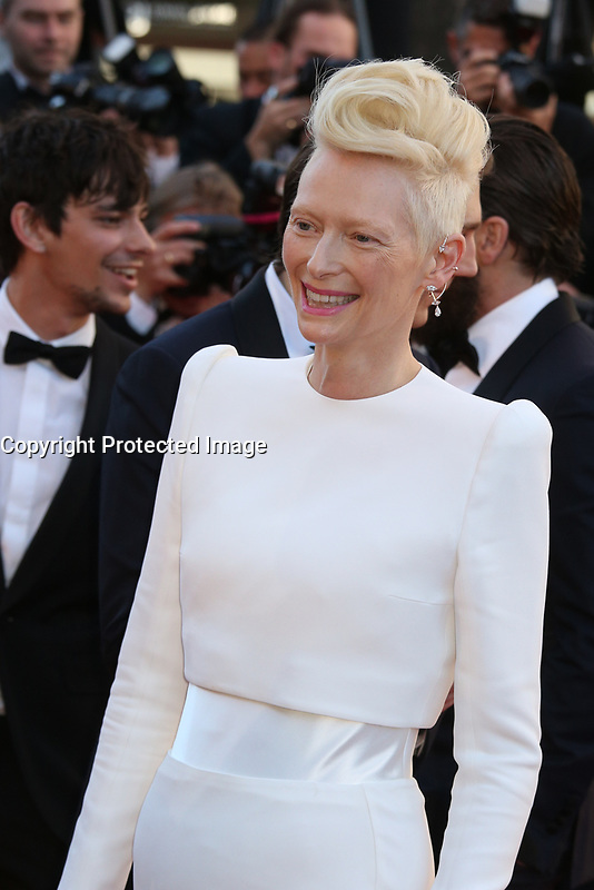 TILDA SWINTON - RED CARPET OF THE FILM 'OKJA' AT THE 70TH FESTIVAL OF CANNES 2017