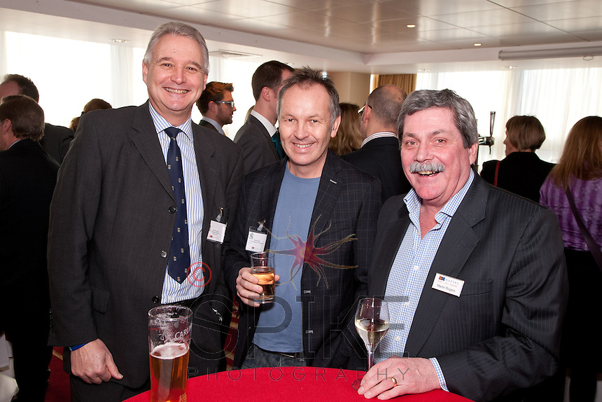 Pictured from left are Steve Rudkin of Business Innovation Grants, Richard Flewitt of New Edge Business Video Productions and Martin Rogers of Mazars