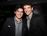 Wesley Taylor and Michael Urie  attend the opening night performance reception for the Keen Company production of Marry Me A Little at the Clurman Theatre in New York City on10/2/2012.