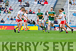 David Moran, Kerry in action against  during the All Ireland Senior Football Semi Final between Kerry and Tyrone at Croke Park, Dublin on Sunday.