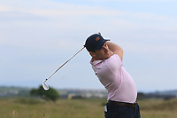 Richard Knightly (Royal Dublin) on the 15th tee during Round 3 of the East of Ireland Amateur Open Championship 2018 at Co. Louth Golf Club, Baltray, Co. Louth on Monday 4th June 2018.<br /> Picture:  Thos Caffrey / Golffile<br /> <br /> All photo usage must carry mandatory copyright credit (&copy; Golffile | Thos Caffrey