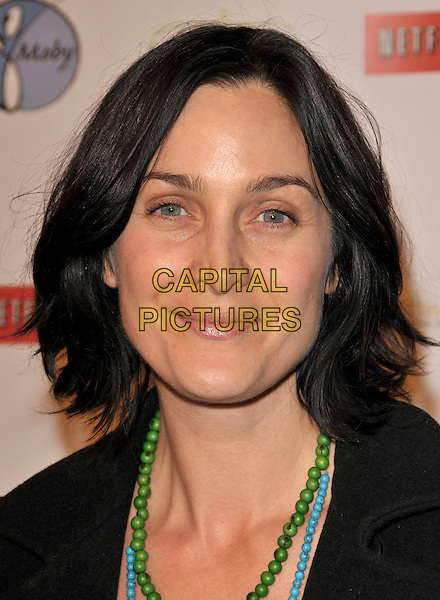 "CARRIE ANN MOSS.attends ""The Business of Being Born"" L.A. Premiere held at The Fine Arts Theatre in Beverly Hills, California, USA, January 14th 2008..portrait headshot anne .CAP/DVS.©Debbie VanStory/Capital Pictures"