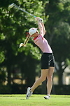 HOUSTON, TX - MAY 19: Stefaniya Ivanova University of Missouri St. Louis during the Division II Women's Golf Championship held at Bay Oaks Country Club on May 19, 2018 in Houston, Texas. (Photo by Justin Tafoya/NCAA Photos via Getty Images)