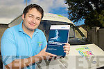 Gareth Lawless from the Kerry Flyer service who will helping drivers receive their Driver CPC certs