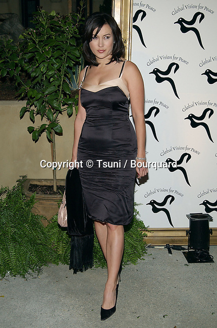"Jennifer Tilly arriving at the party for ""Global Vision For Peace"" at the Historic Talmadge Estate in Los Angeles. March 20, 2003."