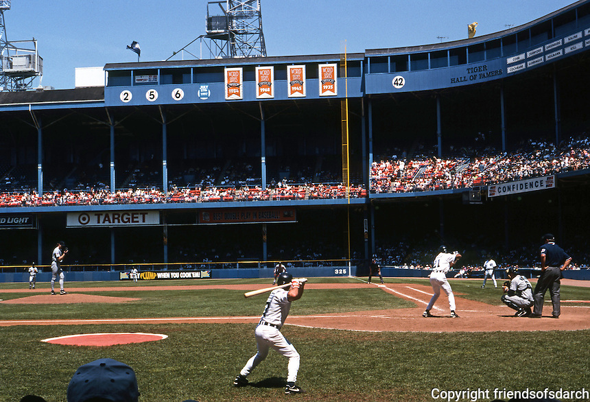 Ballparks: Detroit--Tiger Stadium. Sunday, June 8, 1997.