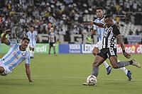 Rio de Janeiro (RJ), 26/01/2020 - Botafogo-Macae - Guilherme Santos (d), do Botafogo. Partida entre Botafogo e Macae, valida pela terceira rodada da Taca Guanabara, realizada no Estadio Nilton Santos (Engenhao), no Rio de Janeiro, neste domingo (26). (Foto: Andre Fabiano/Codigo 19/Codigo 19)