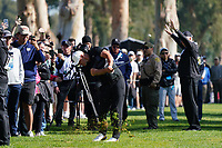 Brooks Koepka (USA) In action during the third round of the The Genesis Invitational, Riviera Country Club, Pacific Palisades, Los Angeles, USA. 14/02/2020<br /> Picture: Golffile | Phil Inglis<br /> <br /> <br /> All photo usage must carry mandatory copyright credit (© Golffile | Phil Inglis)