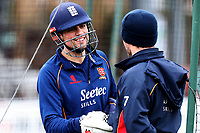 Alastair Cook looks on during Essex CCC Pre-Season Practice at The Cloudfm County Ground on 5th March 2018