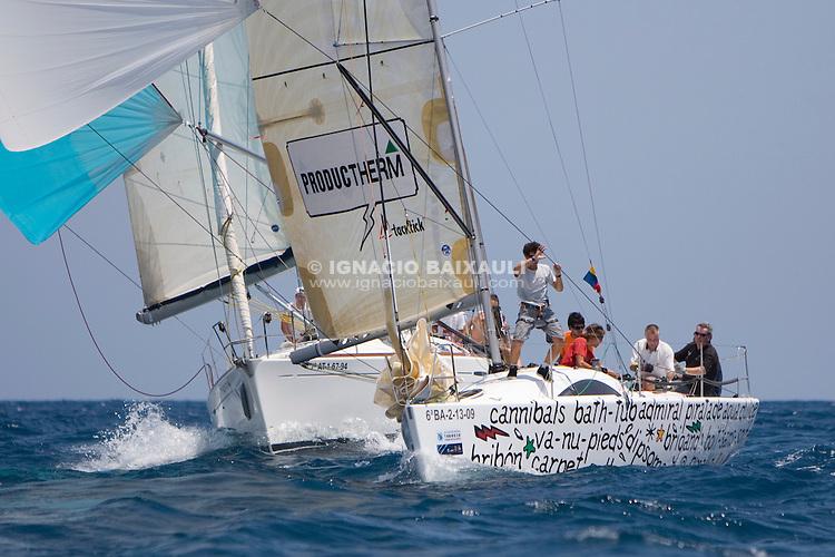 INXS-PRODUCTHERM.CV GOLFUS.PRODUCTHERM.ESP 9931.A31.NAUTA CONSULTANTS SL .XIV TROFEO TABARCA CIUDAD DE ALICANTE.Real Club de Regatas de Alicante, 9 al 12 de Julio de 2009