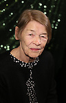 Glenda Jackson attends the 2018 Tony Awards Meet The Nominees Press Junket on May 2, 2018 at the Intercontinental Hotel in New York City.