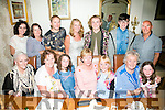 The Hannon / O'Connor family from Castleisland and Australia enjoying a family reunion on Thursady night. at Bella Bia's Front l-r  Jill Hannon, Janet O'Sullivan, Kate Harmon, Maria O'Connell, Keelan Coffey, Sheila Hannon and Bella Harmon. Back l-r  Susan Hannon, Carol Hannon, JJ Coffey, Lorna Keane, Jonathan Keane, Kevin Keane and Joe O'Sullivan