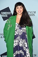 Melissa Helmsley at the launch party for Skate at Somerset House, London, UK. <br /> 14 November  2017<br /> Picture: Steve Vas/Featureflash/SilverHub 0208 004 5359 sales@silverhubmedia.com