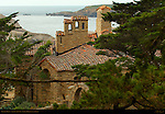 "D.L. James House, ""Seaward"" stone house 1918-1922, Carmel Highlands, California"