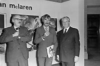 Le cineaste de l'ONF - Norman McLaren<br /> ,Vers 1970<br /> <br /> Photographe : Jacques Thibault<br /> - Agence Quebec Presse