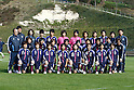 U-20U-20 Japan team group line-up (JPN), APRIL 3, 2012 - Football / Soccer : Women's International Friendly match between France B and U-20 Japan in Clairefontaine, France. (Photo by AFLO SPORT)