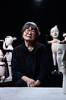 Portraits of artist Patti Warashina