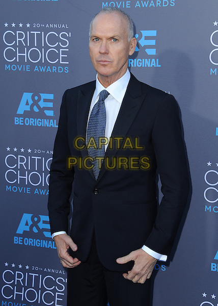 LOS ANGELES, CA - JANUARY 15:  Michael Keaton at the 20th Annual Critics' Choice Movie Awards at the Hollywood Palladium on January 15, 2015 in Los Angeles, California.  <br /> CAP/MPI/PGSK<br /> &copy;PGSK/MediaPunch/Capital Pictures