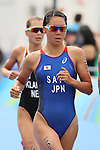 Yuka Sato (JPN), <br /> AUGUST 20, 2016 - Triathlon : <br /> Women's Final <br /> at Fort Copacabana <br /> during the Rio 2016 Olympic Games in Rio de Janeiro, Brazil. <br /> (Photo by YUTAKA/AFLO SPORT)