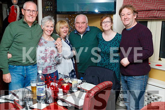 Jim Harley, Catherine Harley, Trisha McGregor, Stuart McGregor, Eileen Murphy and Joe Healy, Tralee, enjoying a night out at the Brogue Inn, Tralee, on Saturday night last.