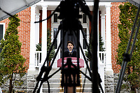 Prime Minister Trudeau speaks with Media outside of Rideau Cottage. April 17, 2020.