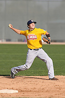 January 16, 2010:  Sean Goodall (Pacifica, CA) of the Baseball Factory California Team during the 2010 Under Armour Pre-Season All-America Tournament at Kino Sports Complex in Tucson, AZ.  Photo By Mike Janes/Four Seam Images