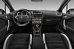 Stock photo of straight dashboard view of 2016 Ds DS4 Opera-Blue 5 Door Hatchback Dashboard