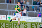 \k0\ in action against \t0\ in the first round of the Munster Football Championship at Fitzgerald Stadium on Sunday.