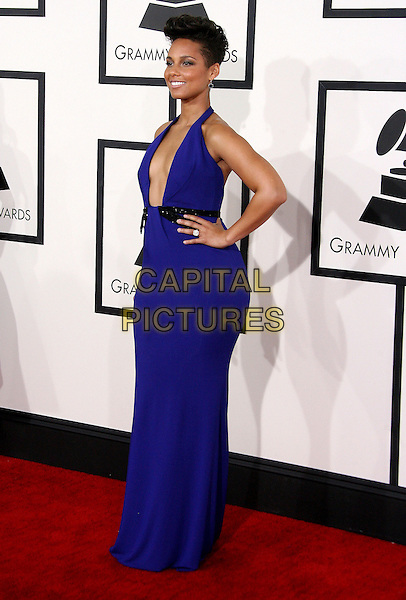 LOS ANGELES, CA - JANUARY 26 - Alicia Keys. 56th GRAMMY Awards held at the Staples Center. <br /> CAP/ADM<br /> &copy;AdMedia/Capital Pictures