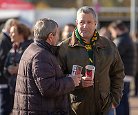 Fans enjoying the pre match atmosphere<br /> <br /> Photographer Bob Bradford/CameraSport<br /> <br /> Quilter Internationals - England v South Africa - Saturday 3rd November 2018 - Twickenham Stadium - London<br /> <br /> World Copyright © 2018 CameraSport. All rights reserved. 43 Linden Ave. Countesthorpe. Leicester. England. LE8 5PG - Tel: +44 (0) 116 277 4147 - admin@camerasport.com - www.camerasport.com