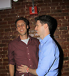 Kevin DeBacker and Nick Lewis at Empire The Series cast & crew get together to see the newest episode on August 28, 2012 at Smithfields in Chelsea, New York City, New York.  (Photo by Sue Coflin/Max Photos)