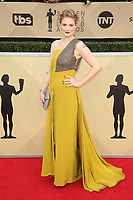 LOS ANGELES, CA - JANUARY 21: Alexandra Breckenridge at The 24th Annual Screen Actors Guild Awards held at The Shrine Auditorium in Los Angeles, California on January 21, 2018. Credit: FSRetna/MediaPunch