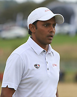 S.S.P Chawrasia (IND) on the 3rd green during Round 4 of Made in Denmark at Himmerland Golf &amp; Spa Resort, Farso, Denmark. 27/08/2017<br /> Picture: Golffile | Thos Caffrey<br /> <br /> All photo usage must carry mandatory copyright credit     (&copy; Golffile | Thos Caffrey)